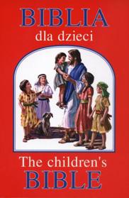 Obrazek Biblia dla dzieci. The children's bible (czerwona)