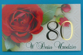 Obrazek 80 urodziny