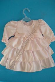 Picture of Sukienka z falbankami dł.rękaw kod 4440