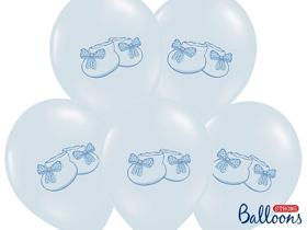 Obrazek Balony Bucik w kolorze Pastel Baby Blue