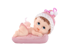 Obrazek Figurka Dziewczynka z poduszką