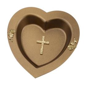 Obrazek Miseczka serce brązowe