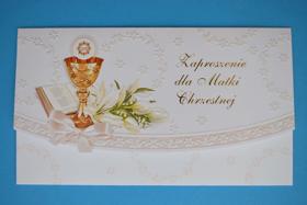 Obrazek Zaproszenie dla Matki Chrzestnej 16
