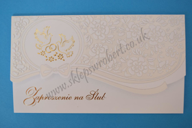 Obrazek Zaproszenie na ślub 08