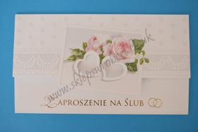 Obrazek Zaproszenie na ślub 09