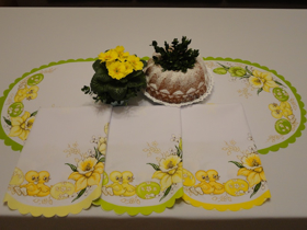Obrazek 4. Bieżnik Wielkanocny