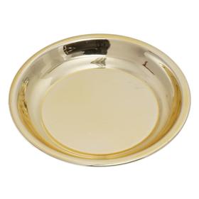 Obrazek Miseczka okrągła złota gładka