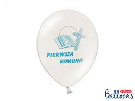 Obrazek Balony z błękitnym nadrukiem