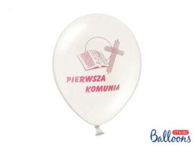 Obrazek Balony z różowym nadrukiem